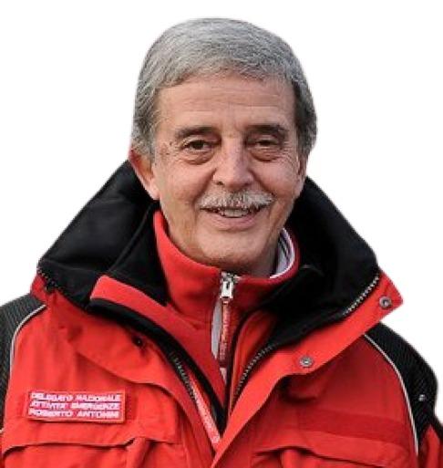 Roberto Antonini Delegato Regionale Emergenze