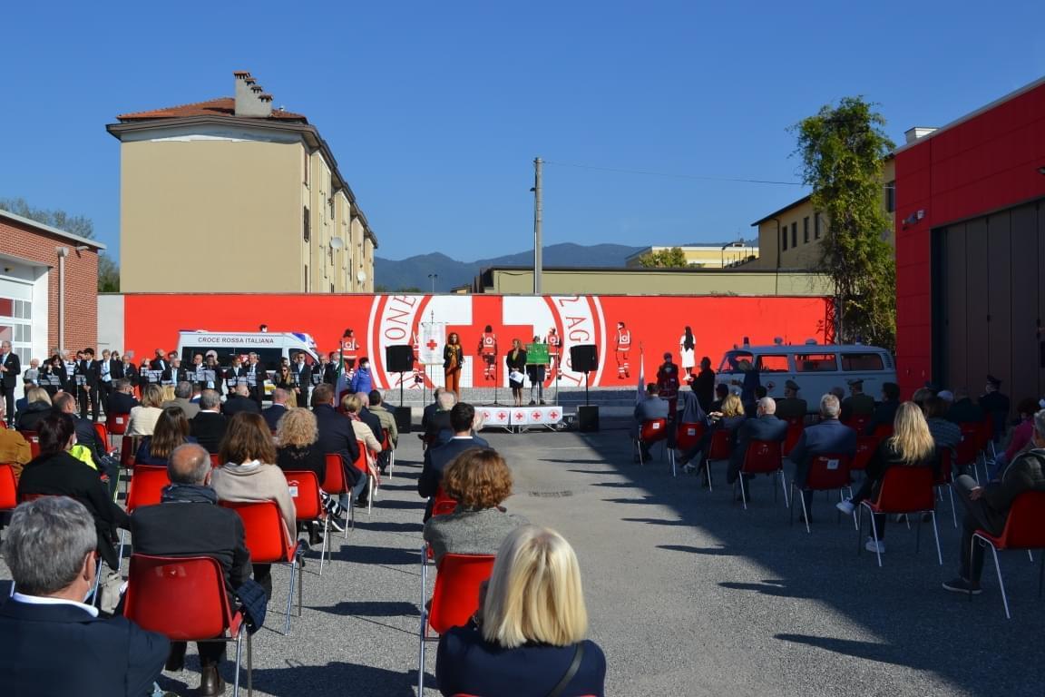 Inaugurazione nuova sede CRI Brescia