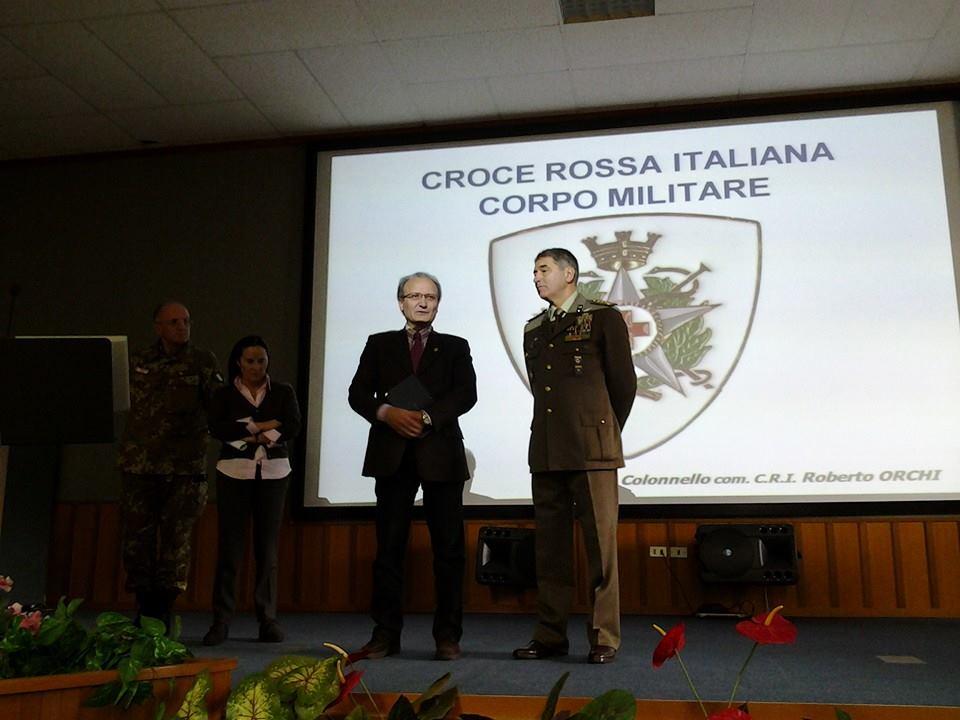 Inaugurazione Corso Militari CRI