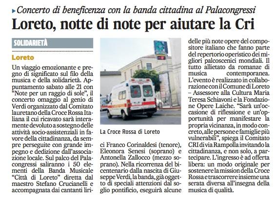 Articolo stampa Corriere Adriatico