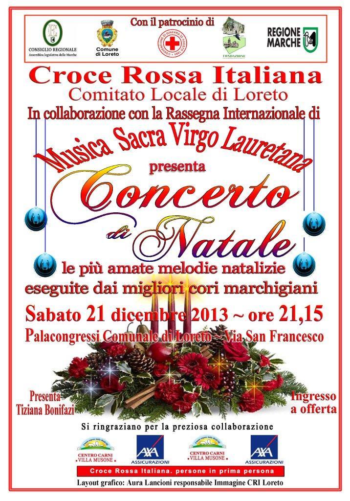 Locandina concerto Natale Loreto