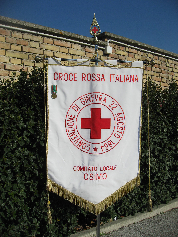 Stendardo della CRI di Osimo