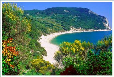Vista della Riviera del Conero
