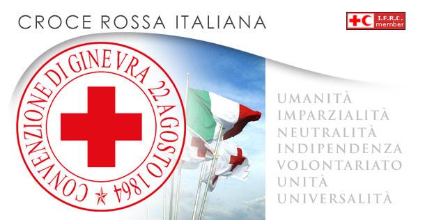 Bandiera Croce Rossa Italiana