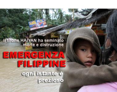 Foto Filippine disastro
