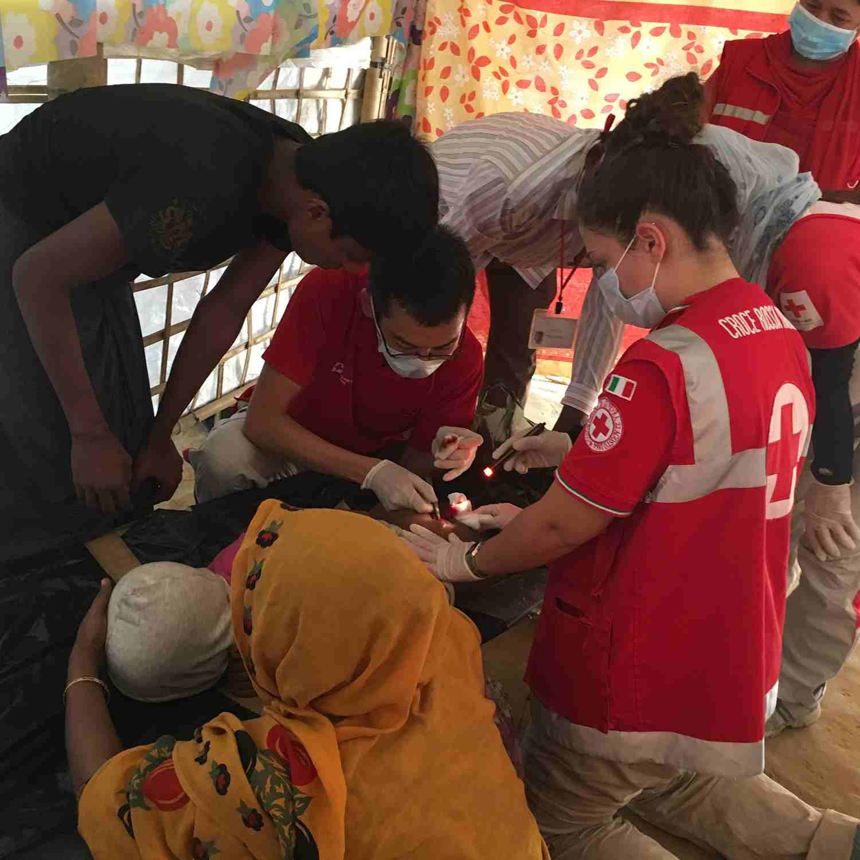 """Benedetta: """"Dalle attività con i giovani a Cox's Bazar"""