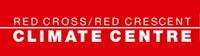 """Scritta """"Red Cross/Red Crescent – Climate Center"""""""