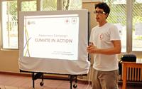 Lezione sui cambiamenti climatici nelle scuole