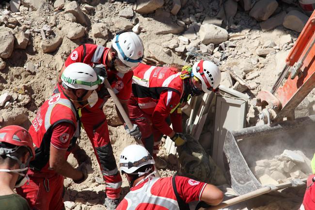 Terremoto Italia centrale