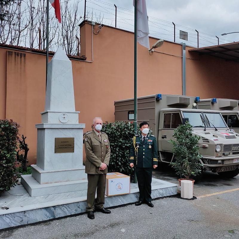 Visita Addetto Militare Rep. Corea