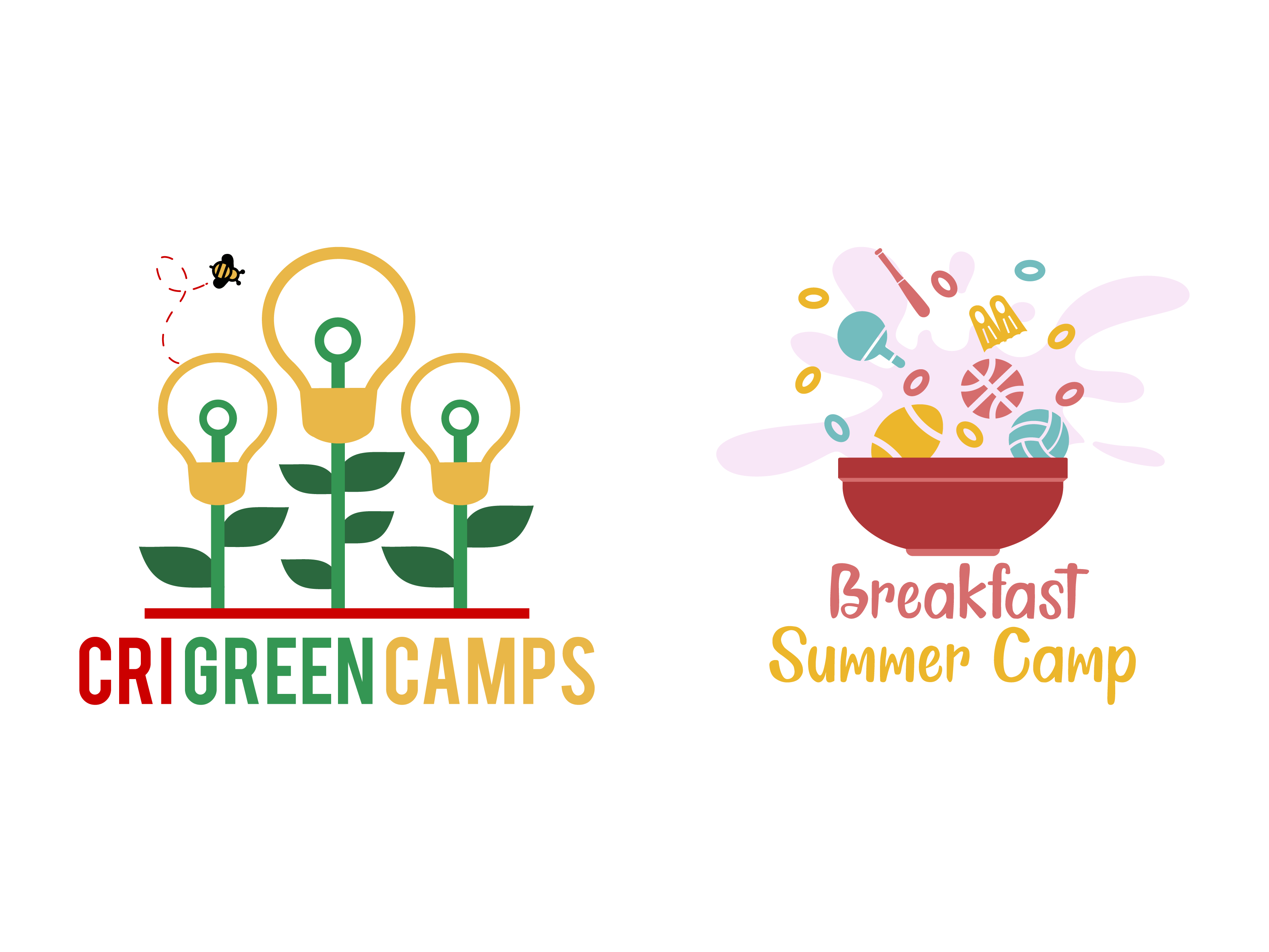 CRI Green Camps e Kellogg Summer Camps – loghi 800x600_