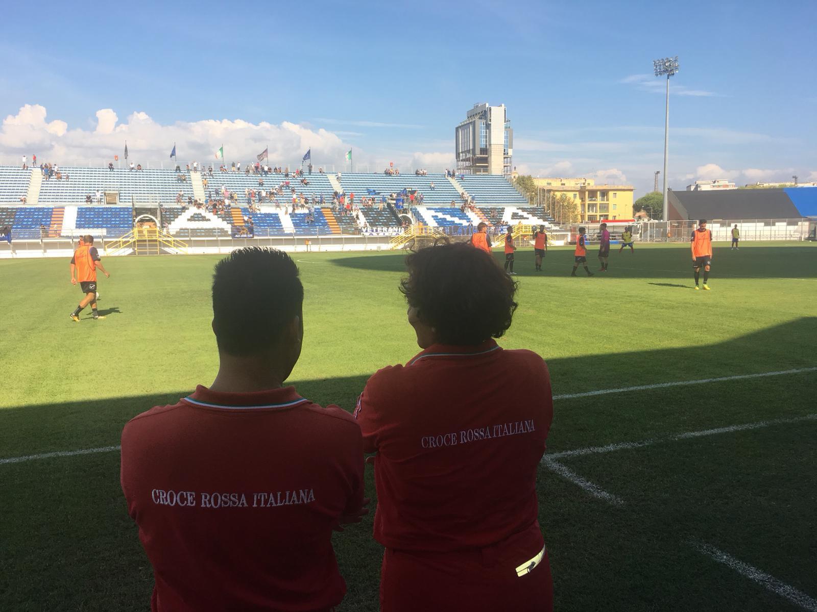 Al Comitato CRI di Latina l'assistenza sanitaria al Latina Calcio 1932 nelle partite in casa