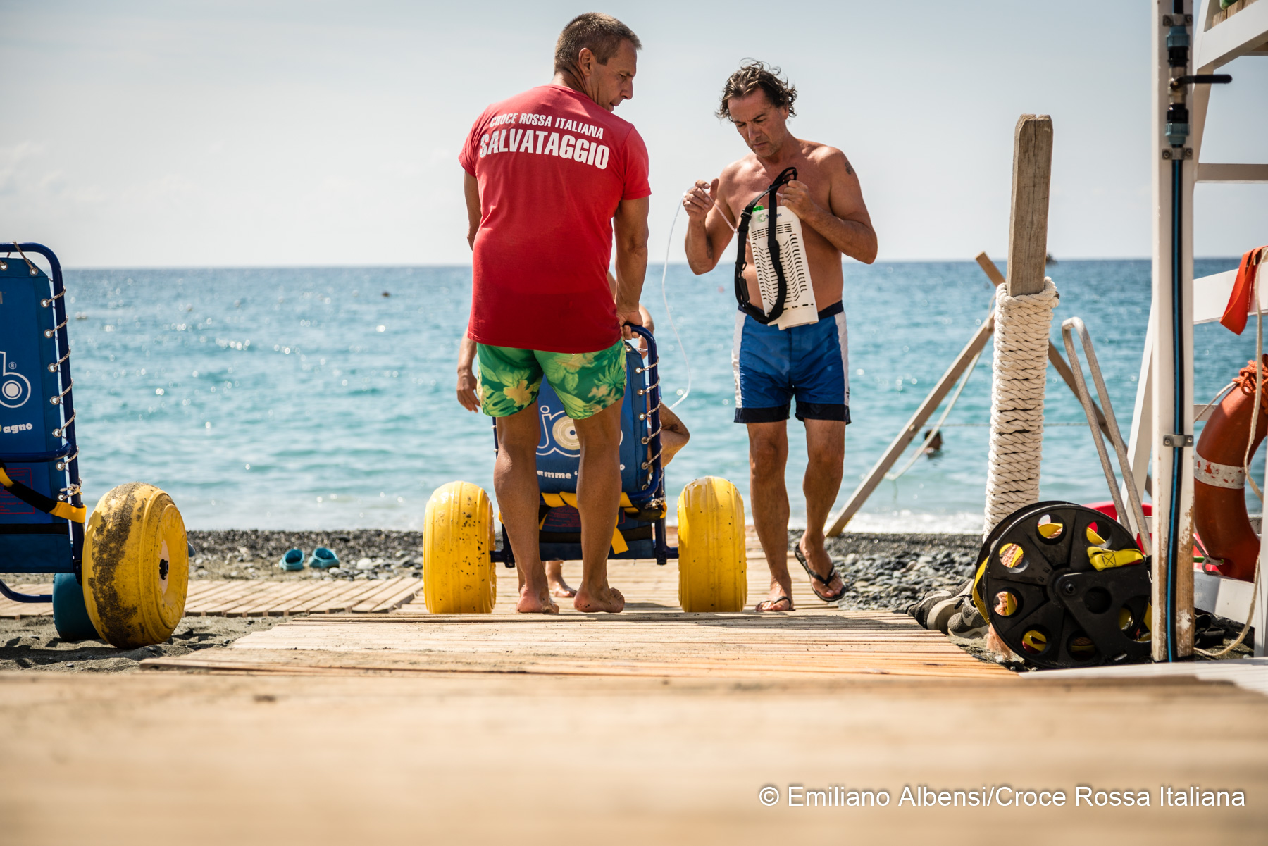 Spiagge Solidali della CRI, dove la libertà non è un'opportunità, ma una scelta