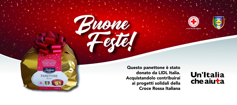 Panettone Solidale della Croce Rossa Italiana 2019