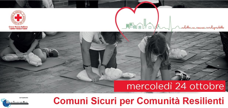 """""""Adotta un Comune Cardioprotetto"""": il 24 ottobre inaugurazione del progetto CRI per le comunità colpite dal sisma"""