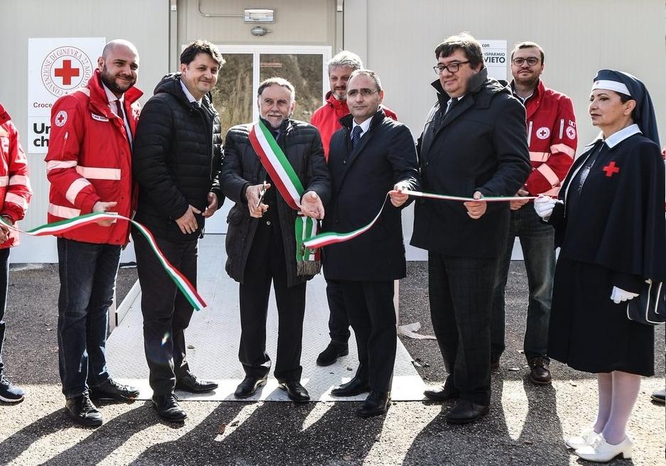 Inaugurazione del presidio sanitario di Cascia (PG)