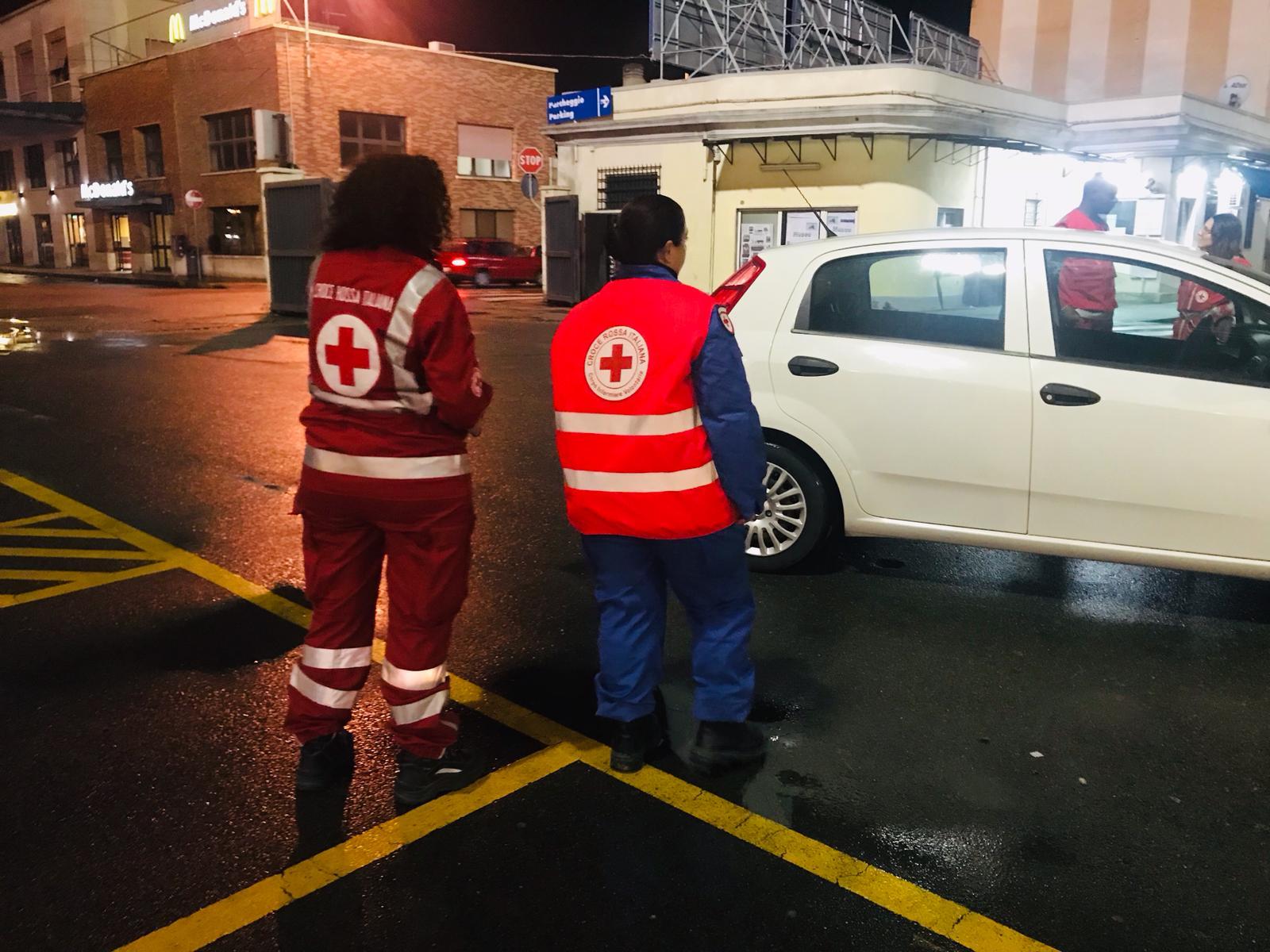 Cagliari, l'impegno in favore de senza dimora durante l'emergenza maltempo