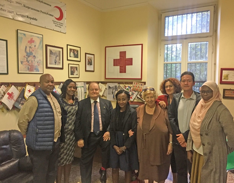 Riduzione del danno e rischi delle tossicodipendenze: la Croce Rossa del Kenya ospite di Villa Maraini