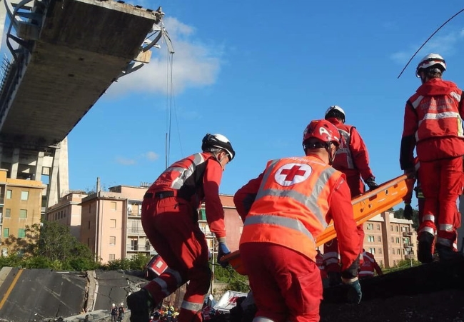 Emergenze, addestramento e stoccaggio materiali: rinsaldata l'intesa tra CRI e Protezione Civile