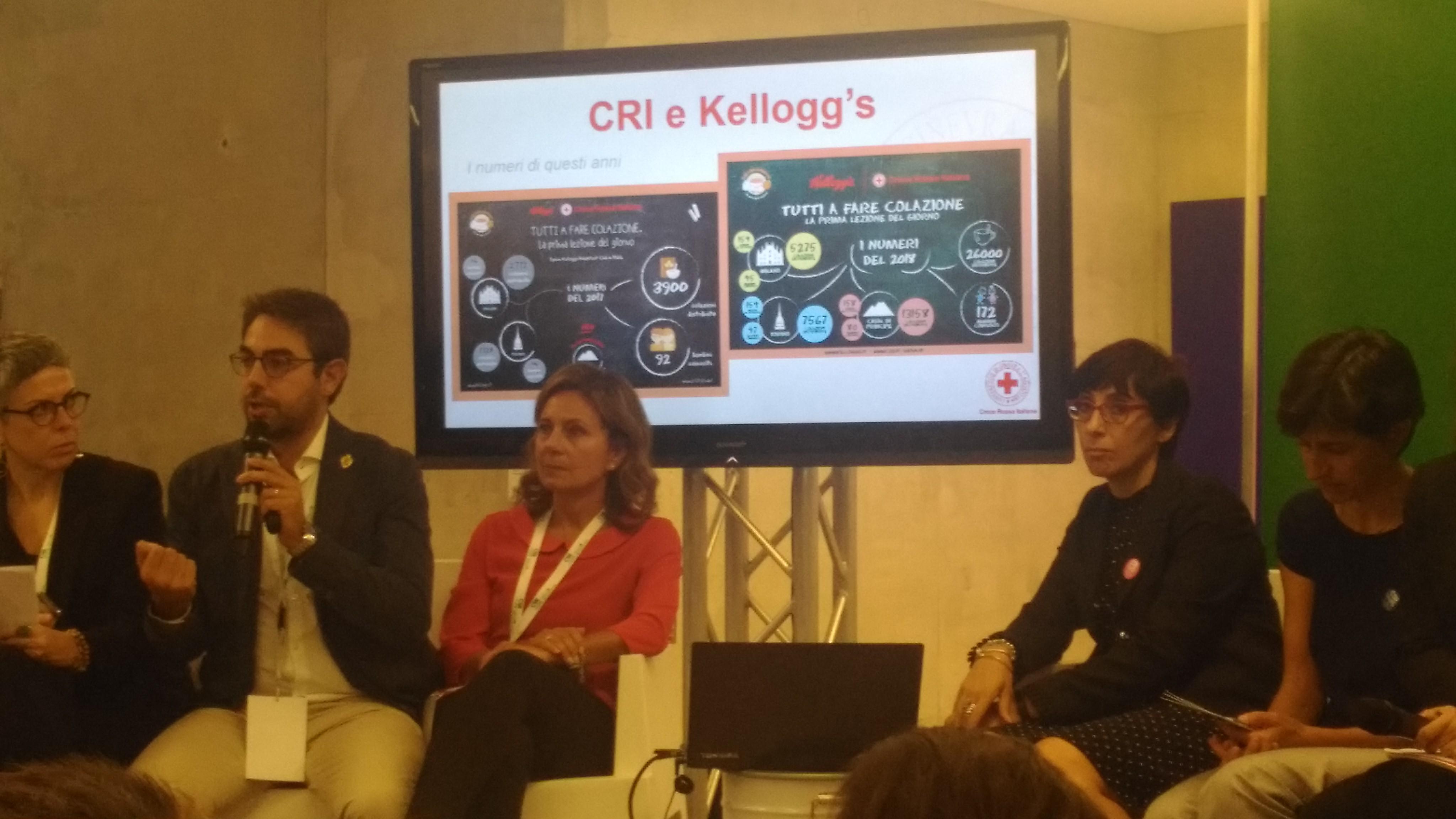 """Croce Rossa al Salone della Csr e dell'innovazione sociale. Bellocchi: """"Accanto ai bambini per rispondere alle loro esigenze primarie"""""""