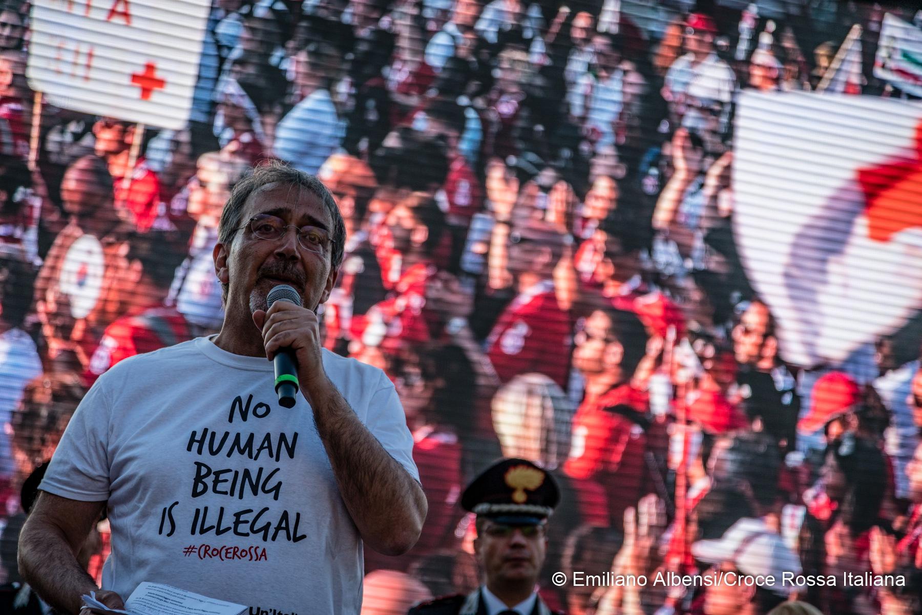 """Rocca: """"Grazie ai volontari, gli unici a raggiungere l'ultimo miglio"""""""