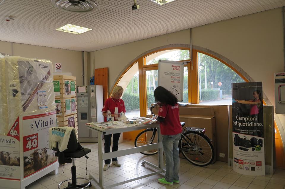 Gorizia: il Comitato CRI partecipa alla raccolta di materiale didattico