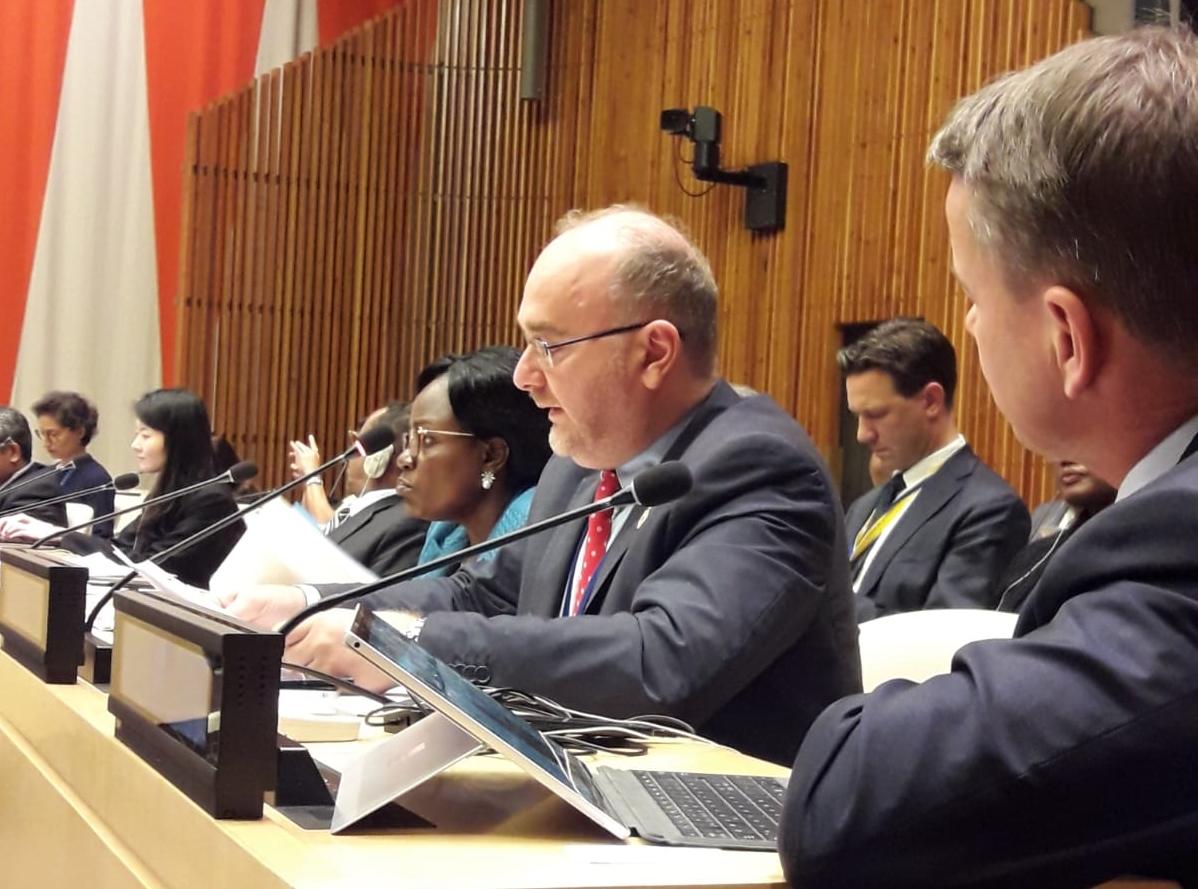 """ONU - Valastro, CRI, sul Global Compact on refugees: """"Necessario approccio diverso e inclusivo. Ruolo chiave degli attori locali"""""""
