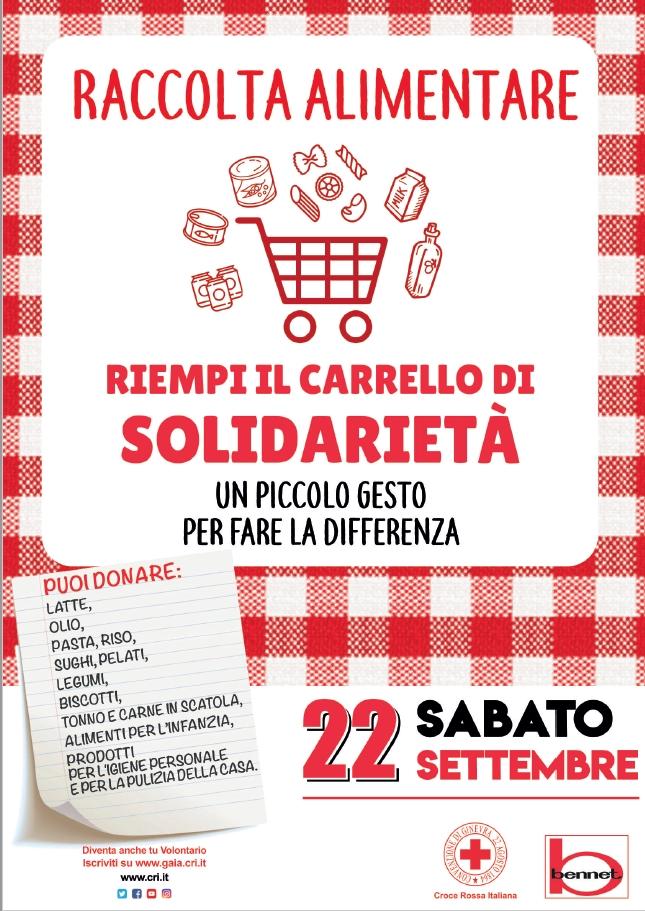 Il 22 Settembre raccolta alimentari nel Nord Italia per le persone in difficoltà