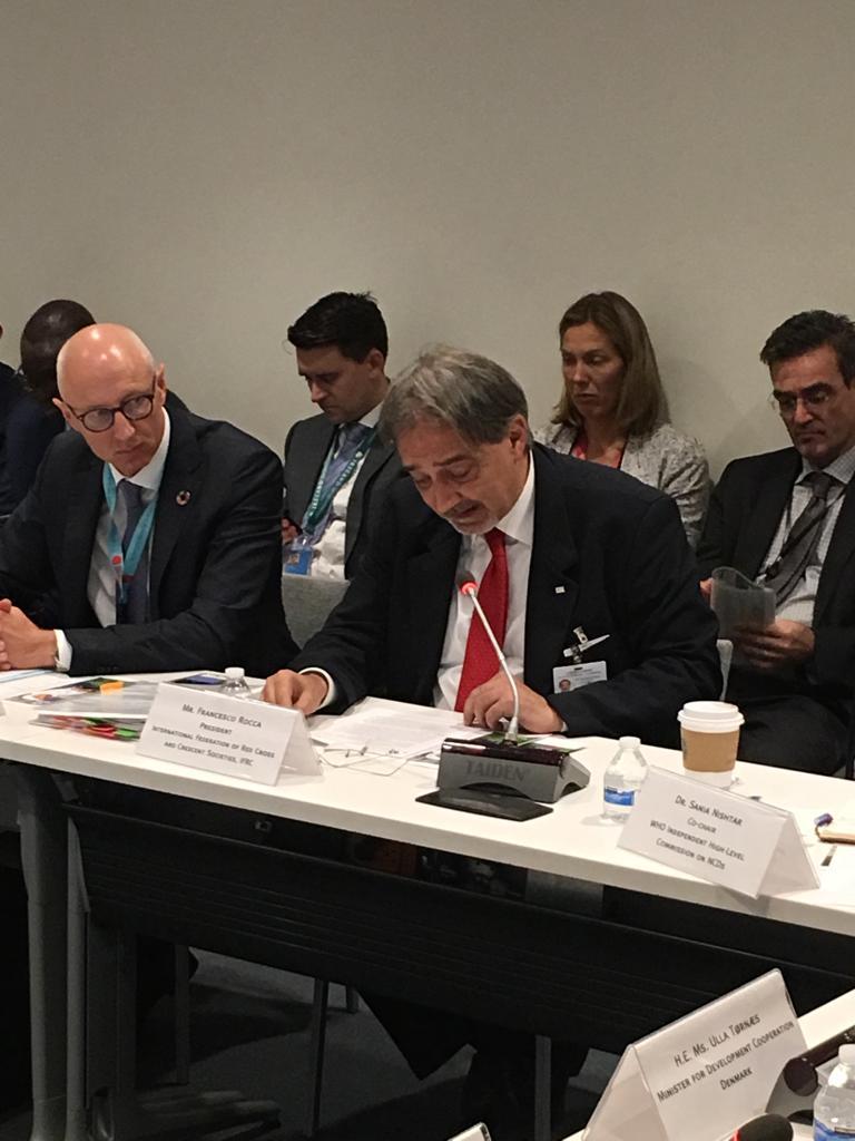 La Croce Rossa alla 73° Assemblea Generale delle Nazioni Unite: si apre con il Nelson Mandela Peace Summit
