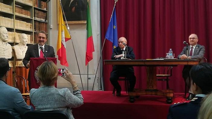 Acireale, conferito a Francesco Rocca il Diploma di Socio d'Onore dell'Accademia  degli Zelanti e dei Dafnici - Croce Rossa Italiana