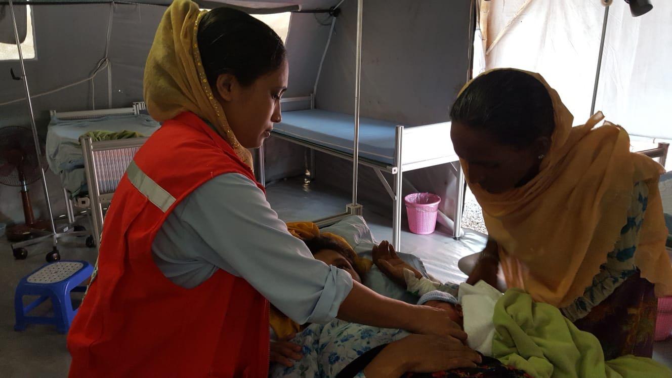 Cox's Bazar: diario di bordo dall'ospedale da campo della Croce Rossa