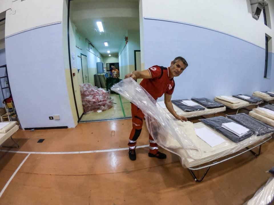 Maltempo e tanta paura per il terremoto: nel Sud Italia anche la CRI in campo nelle operazioni di assistenza