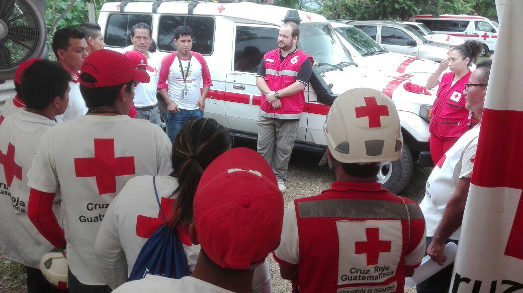 Guatemala, le attività di supporto e cooperazione della CRI dopo l'eruzione del Volcàn de Fuego