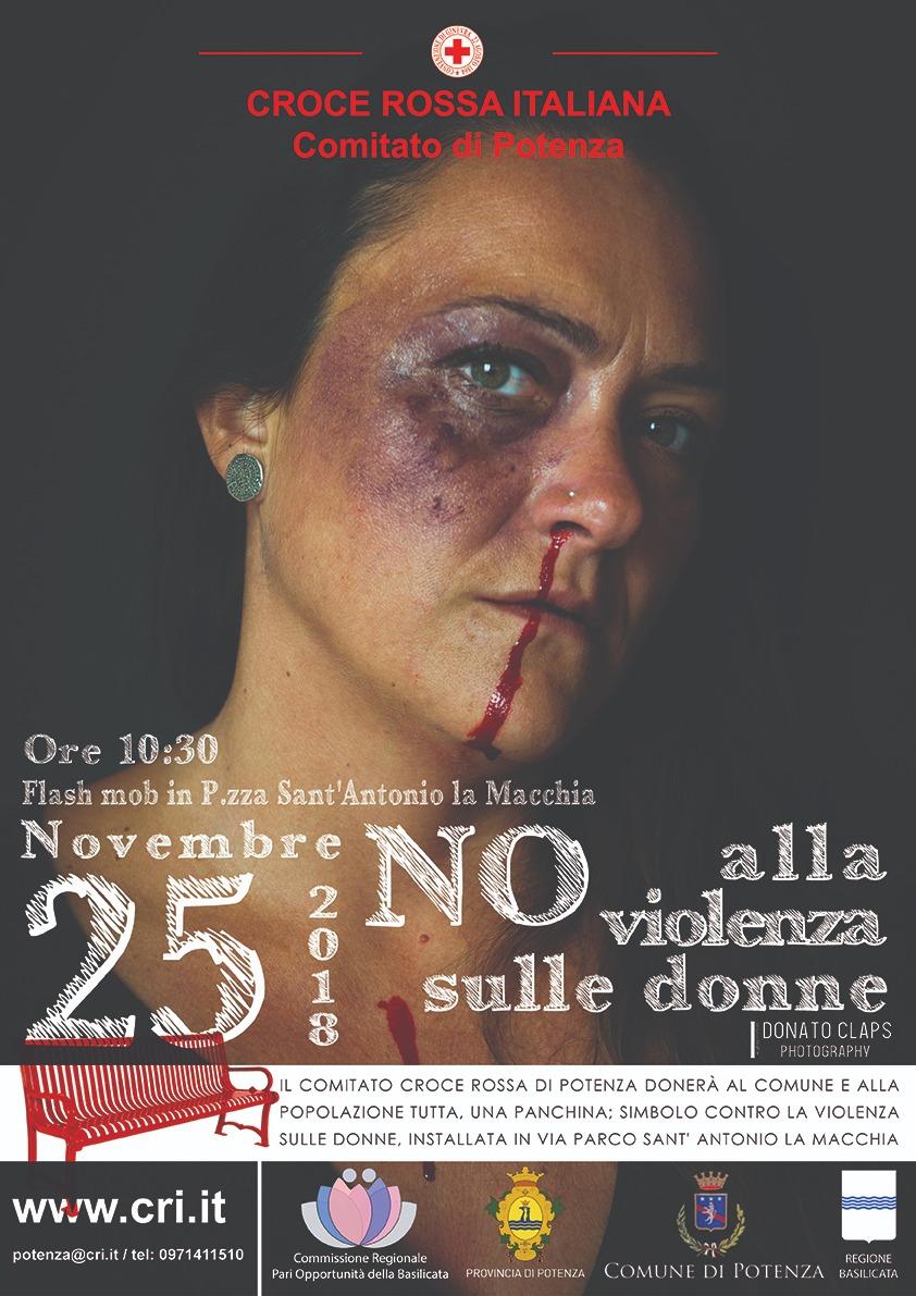 """""""Sei tu il sole"""", la CRI Potenza contro la violenza di genere"""