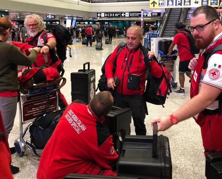 Indonesia, una squadra della Croce Rossa Italiana in viaggio verso Sulawesi