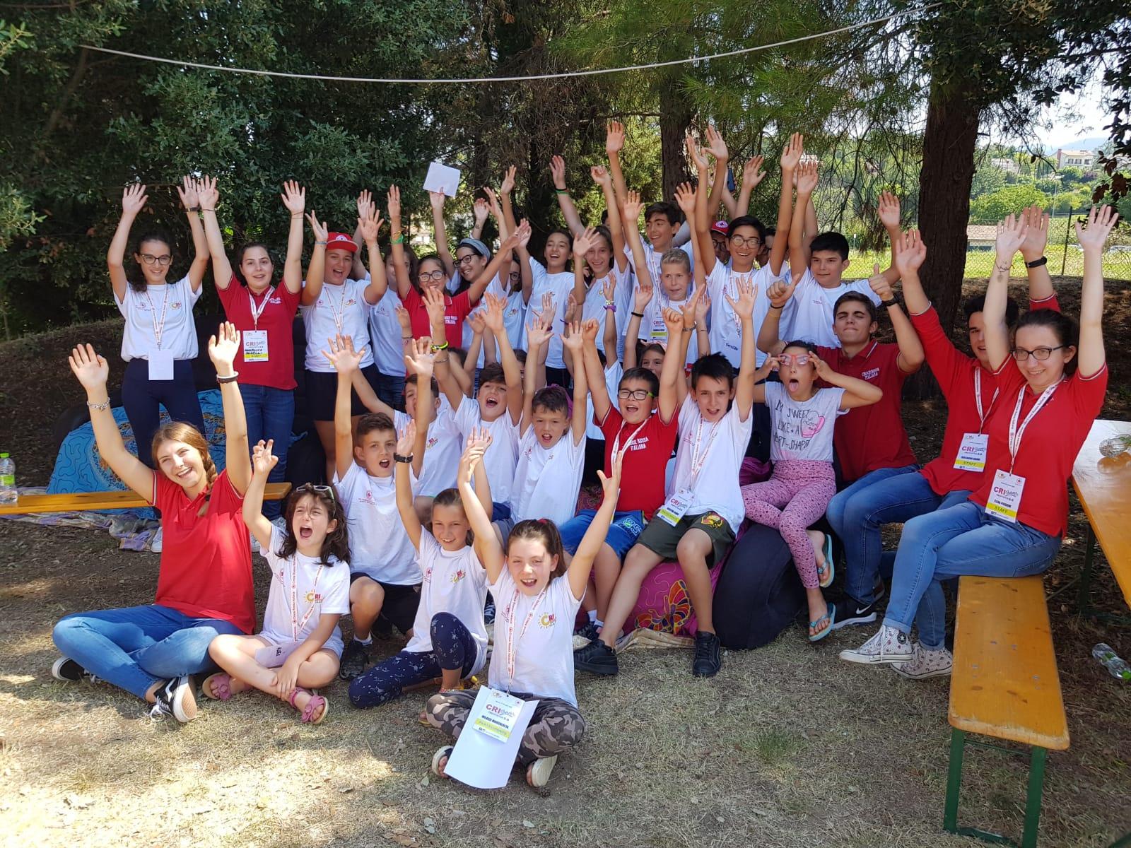 A Spoleto e Roma i CRI Summer Camp 2018: divertimento e formazione per i giovani delle aree colpite dal sisma
