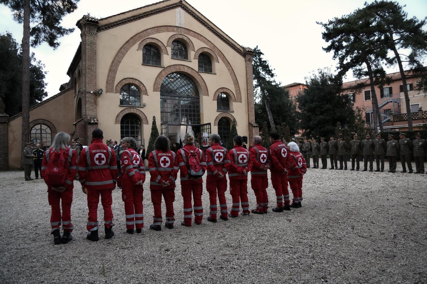 All'Aranciera di San Sisto a Roma la storia del soccorso umanitario della Croce Rossa Italiana