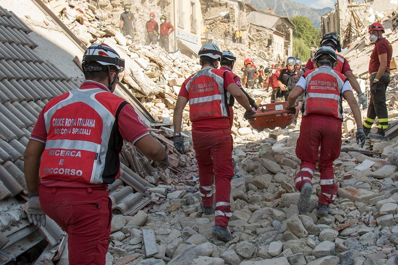 l'Anniversario del sisma di Amatrice, Accumoli e Arquata del Tronto