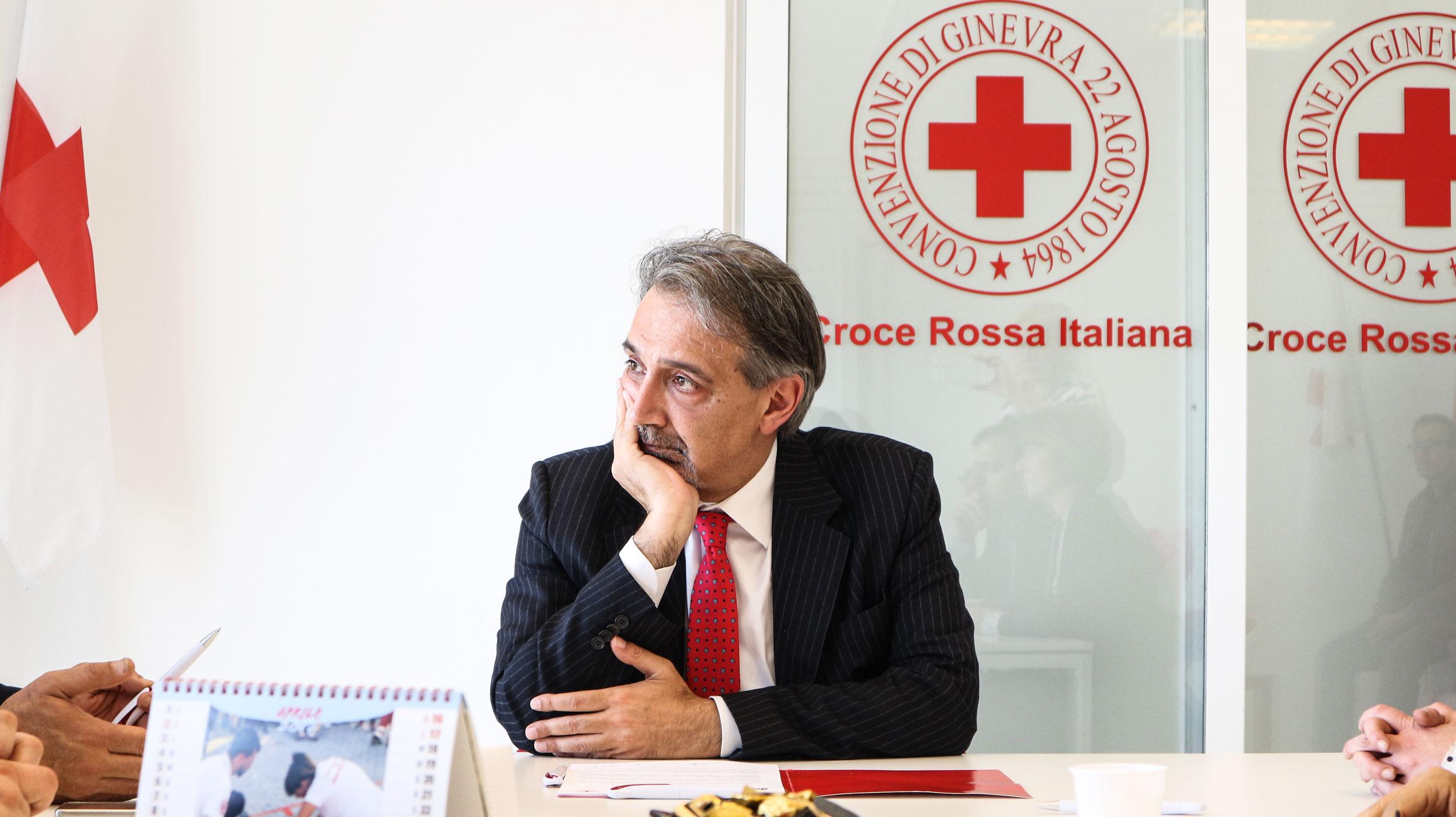Il messaggio di auguri del Presidente della Croce Rossa Italiana Francesco Rocca
