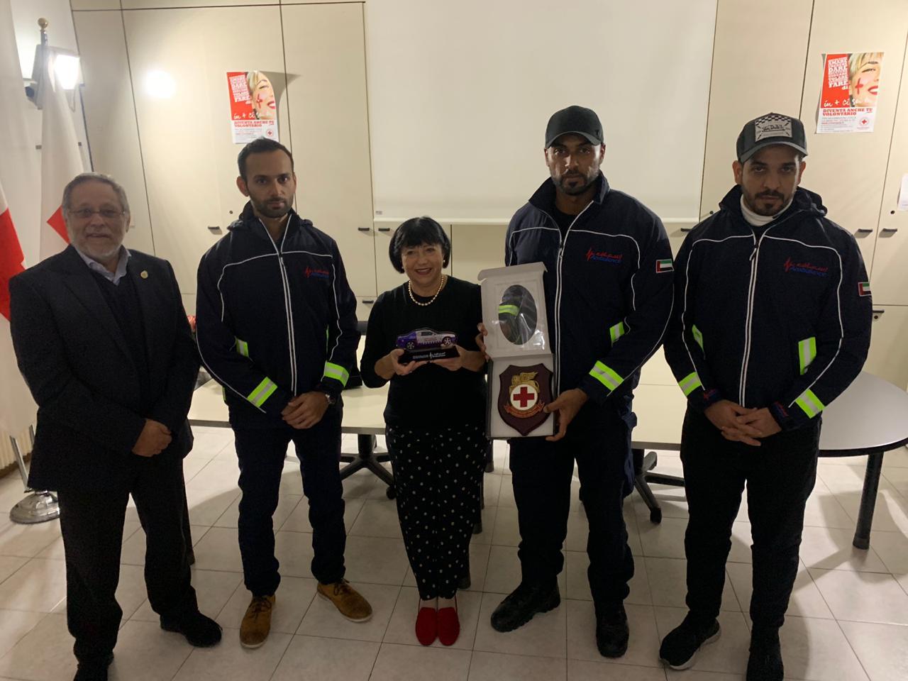CRI di Venezia incontra gli Emirati interessati alle attività di soccorso marittimo